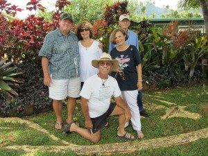 Family Get-Together on Kauai