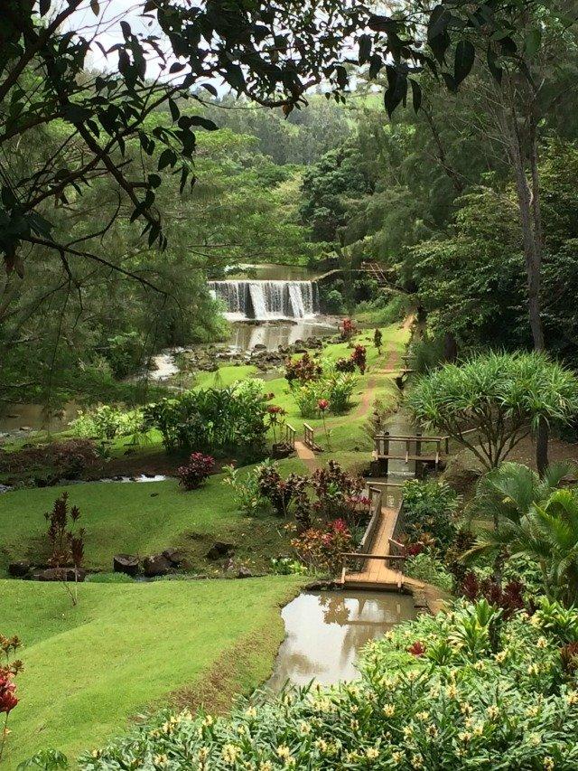 Wai Koa Stone Dam