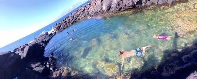 Where To Go In Kauai – Magical Queen's Bath – Princeville