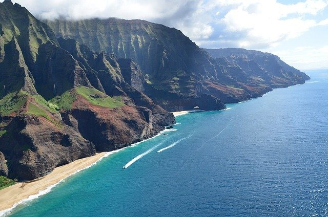 Na Pali Catamaran Offers A Sea Tour Down The Na Pali Coast From Hanalei Bay!