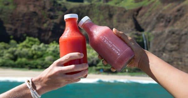 Organic Cold Pressed Juices on Kauai