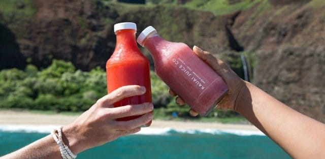 Organic Cold Pressed Juices on Kauai