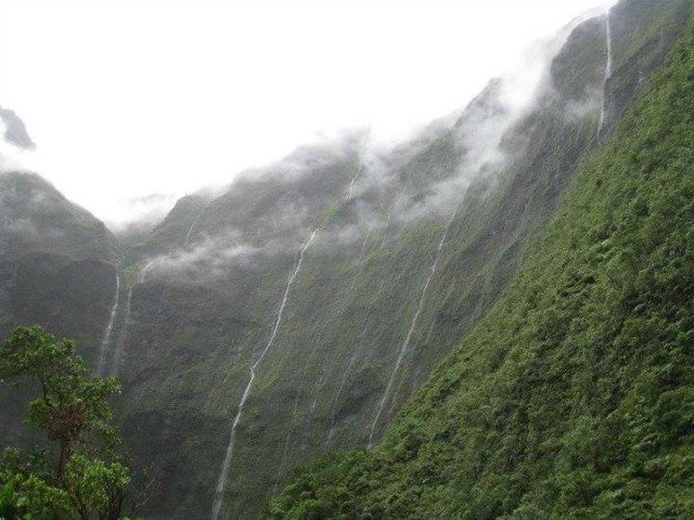 Mount Wai'ale'ale On Kauai