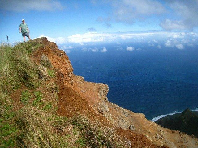 Outlook Over the Na Pali Coast