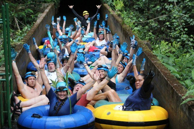What To Do In Kauai – Tubing – Kauai Backcountry Adventures