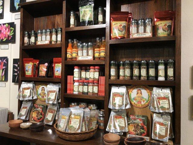 Aloha Spice Company - shop in Kauai
