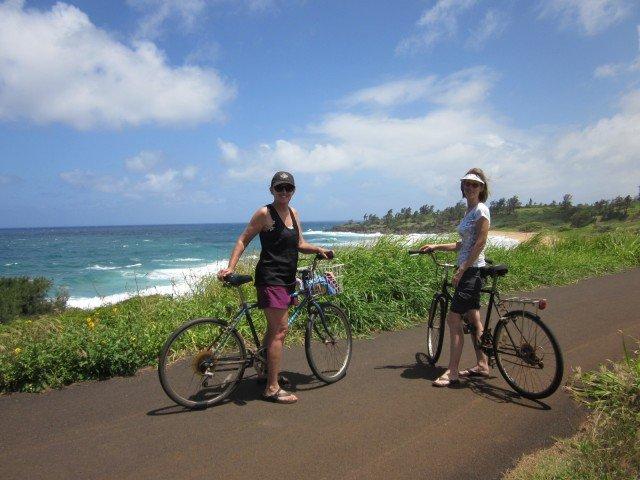 What To Do In Kauai – Bike Ride The Kapa'a Coastal Path – Kauai
