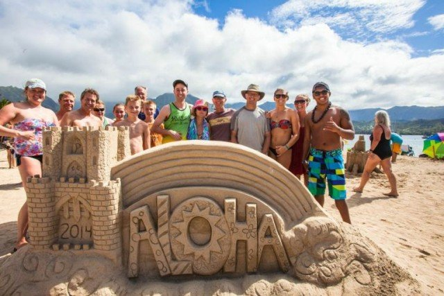 What To Do In Kauai – Sand Festival & Sand Castle/Sculpture Contest