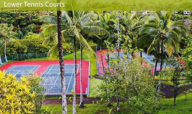 Hanalei Bay Resort Tennis - Princeville