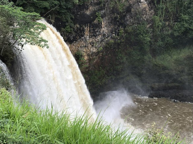 Kauai Waterfalls – Wailua Falls – 'Opaeka'a Falls – Kauai – Hawaii