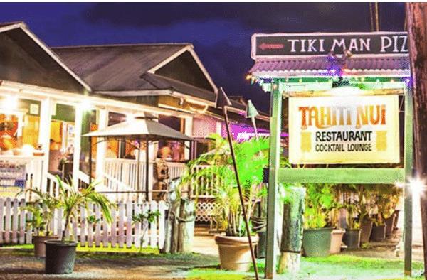 Tahiti Nui Restaurant – A Kauai Experience – Hanalei – Hawaii