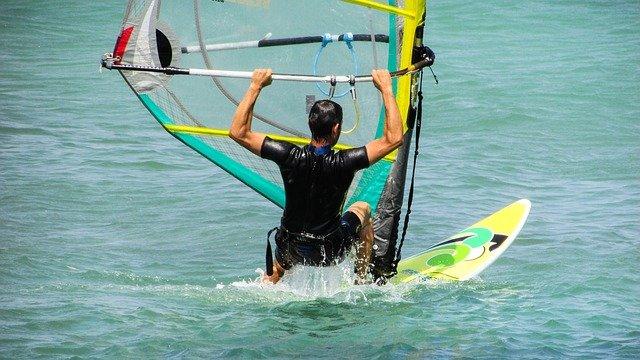 Windsurfing Lessons On Kauai-Anini Beach-Hawaii