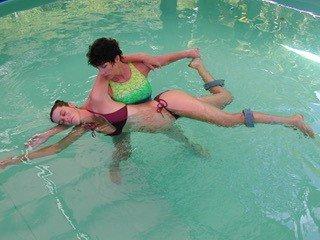 Aquatic Body Work On Kauai- Kalaya Delmars
