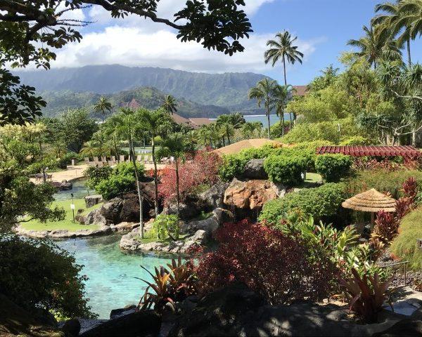 Sports Bar With A View – Happy Talk Lounge – Princeville, Kauai, Hawaii