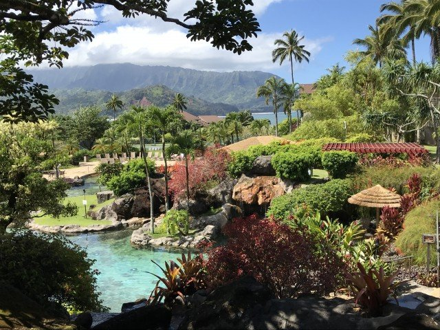 Sports Bar With A View – Happy Talk Lounge – Princeville, Kauai, Hawaii