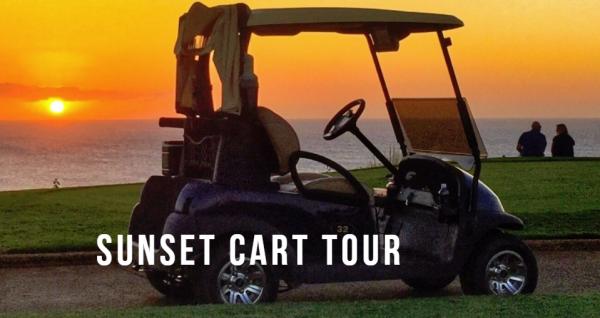 Sunset Cart Tour at the Princeville Golf Course – Kauai, Hawaii