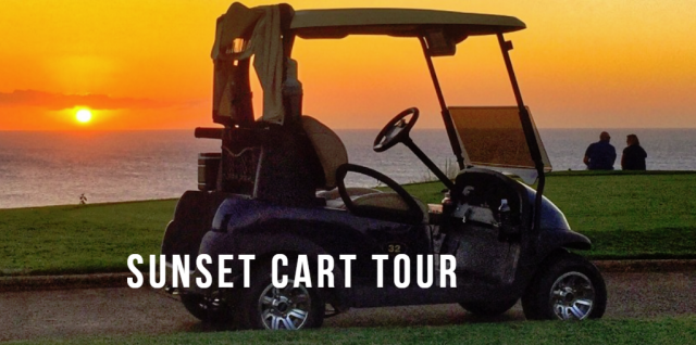 Sunset Cart Tour at the Princeville Golf Course – Kauai, Hawaii