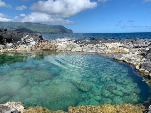 Queens Bath - Kauai Pandemic Bubble