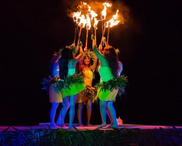 The Ahi Lele Fire Show Is Back At Anaina Hou-Kilauea