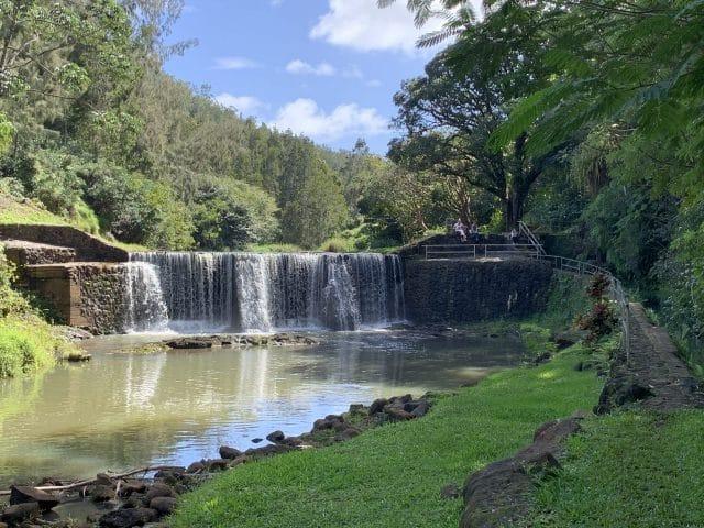 Kilauea Stone Dam