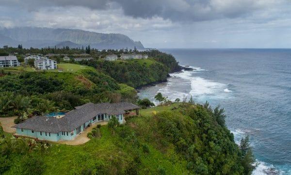 New Drone Videos Of Honu Point Vacation Rental – Kauai, Hawaii