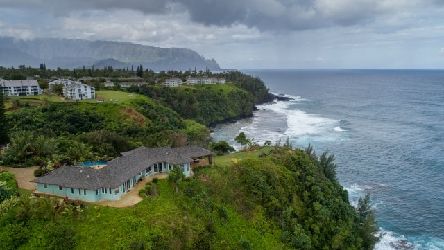 New Drone Videos Of Honu Point Vacation Rental – Kauai, Hawaii